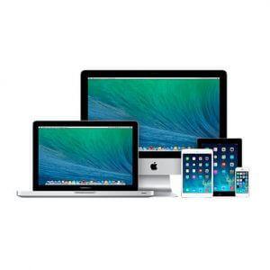 Alle Geräte von Apple